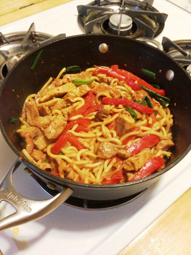 A quick stir-fry for a busy night!